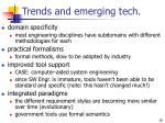 trends and emerging tech
