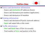 netflow data