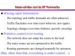 state of the art in ip networks
