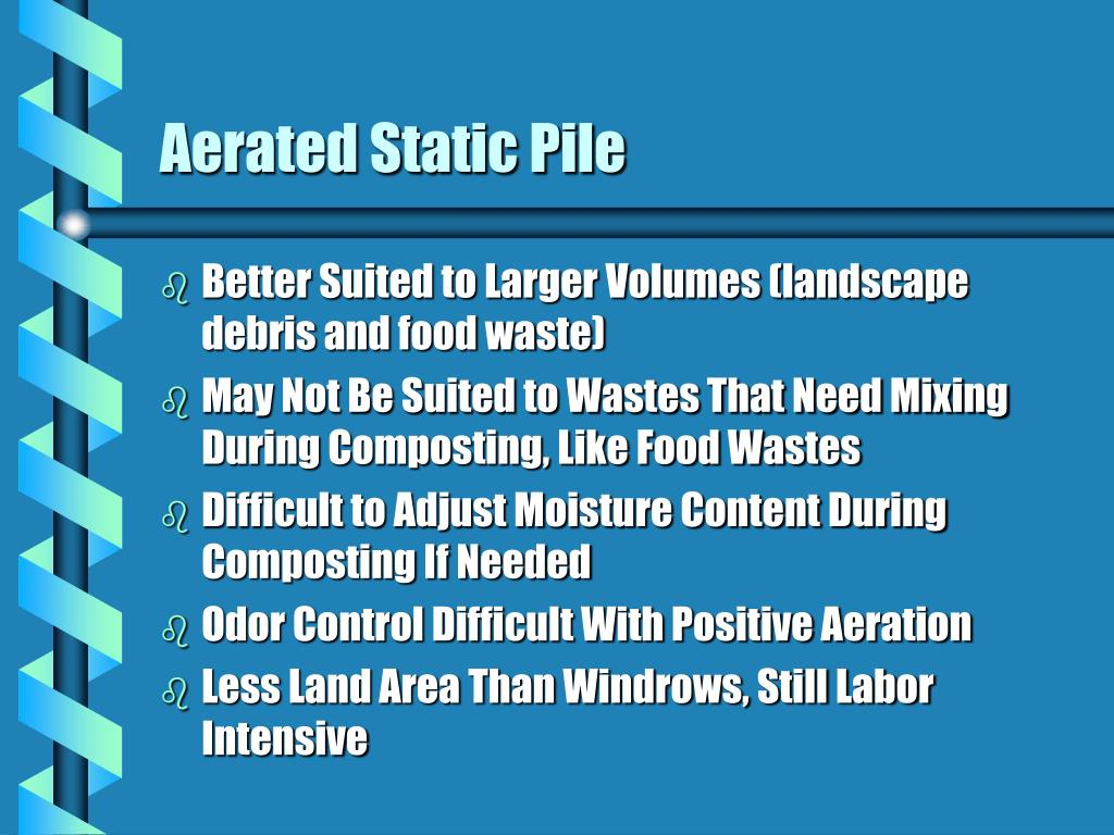 Aerated Static Pile