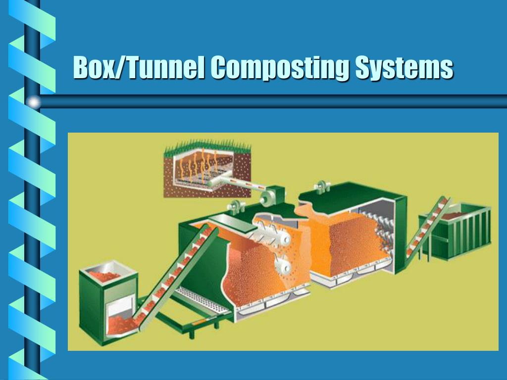 Box/Tunnel Composting Systems