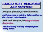 laboratory diagnosis and services11