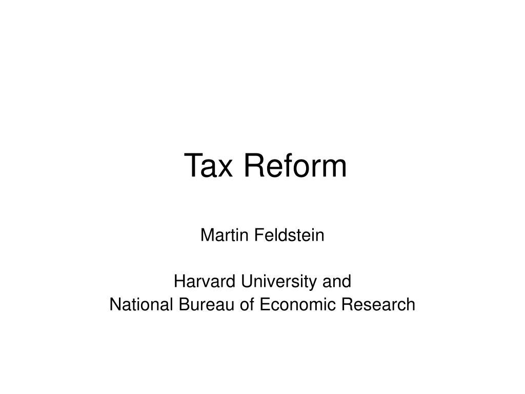 tax reform l.