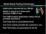model based testing introduction