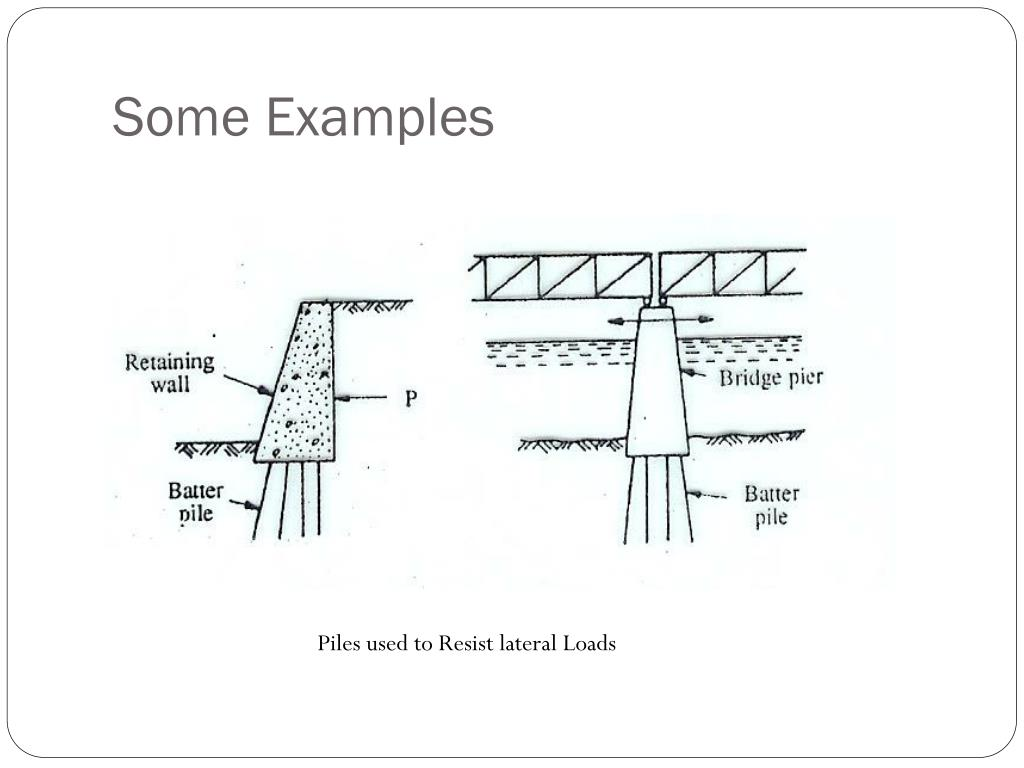 PPT - PILE FOUNDATIONS PowerPoint Presentation - ID:345665