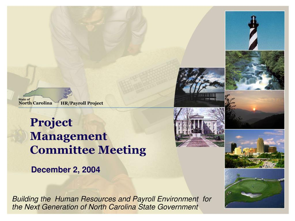project management committee meeting l.