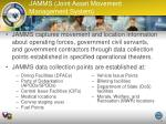 jamms joint asset movement management system