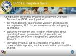 spot enterprise suite