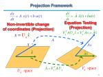 projection framework6