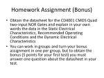 homework assignment bonus