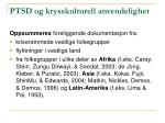 ptsd og krysskulturell anvendelighet62