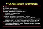 vra assessment information50