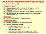 les maladies septic miques et syst miques13
