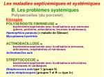 les maladies septic miques et syst miques22