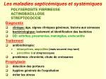 les maladies septic miques et syst miques27