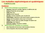 les maladies septic miques et syst miques29