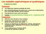 les maladies septic miques et syst miques35