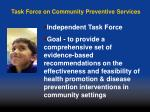 task force on community preventive services