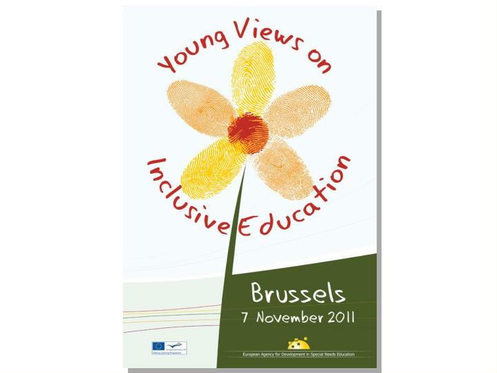 Young views on inclusive education