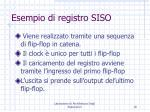 esempio di registro siso