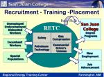 recruitment training placement