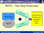 retc one stop partnership