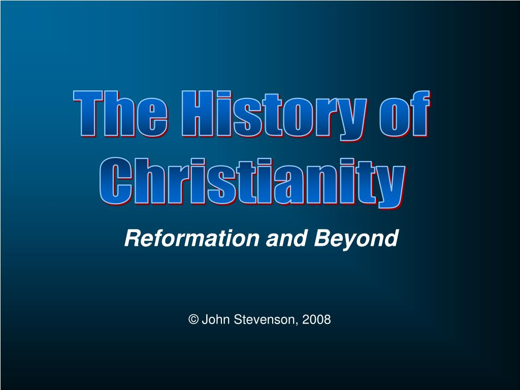 reformation and beyond l.