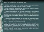 breve introduccion al islam actual