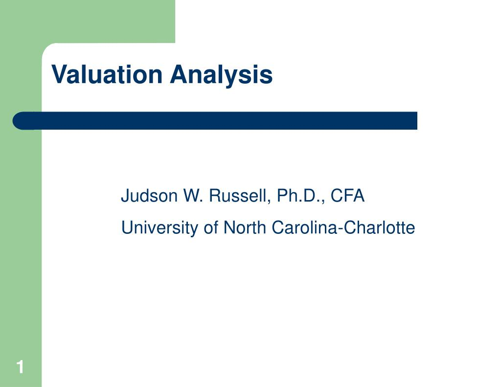valuation analysis l.