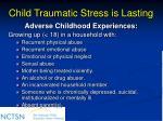 child traumatic stress is lasting24