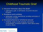 childhood traumatic grief67