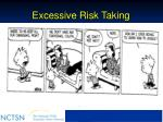 excessive risk taking