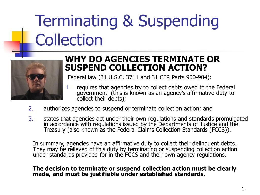 terminating suspending collection l.