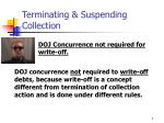 terminating suspending collection7