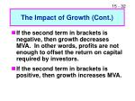 the impact of growth cont