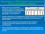 advantages of dna based measurement of tumor associated mutations