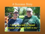 a success story50