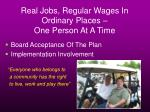 real jobs regular wages in ordinary places one person at a time18