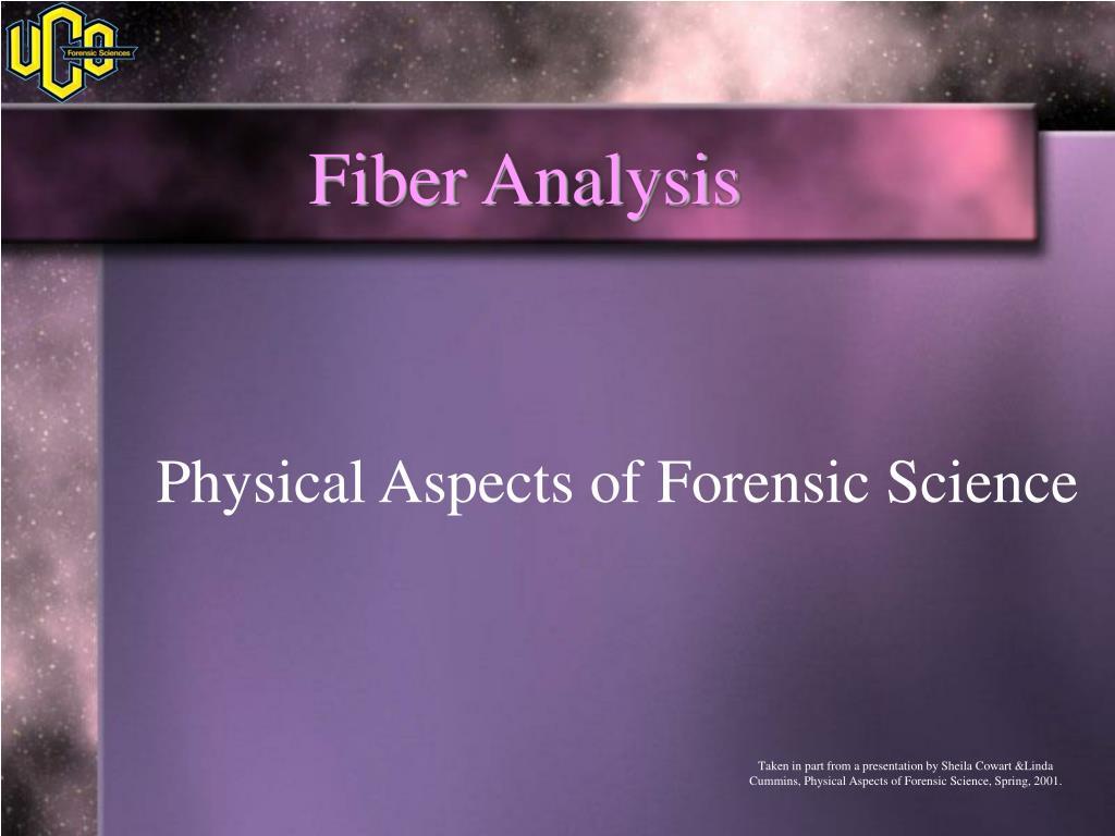 fiber analysis l.