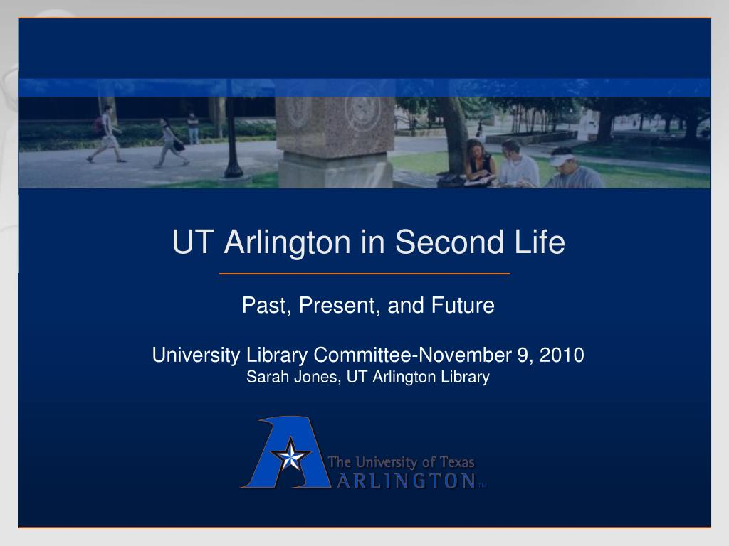 ut arlington in second life l.