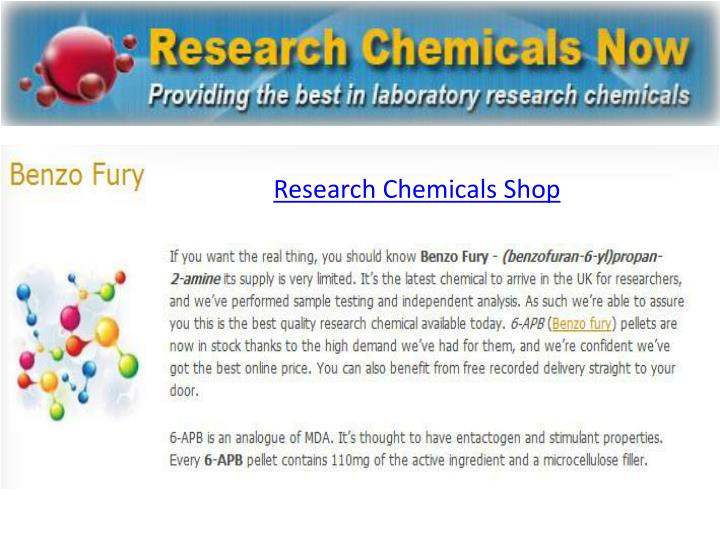 Research Chemicals Shop