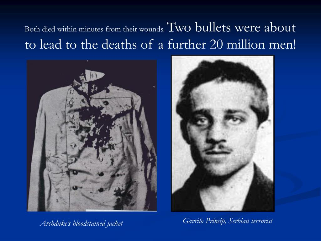 Both died within minutes from their wounds.