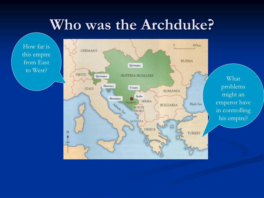 Who was the Archduke?