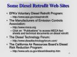 some diesel retrofit web sites