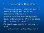 the request dispather