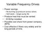 variable frequency drives71