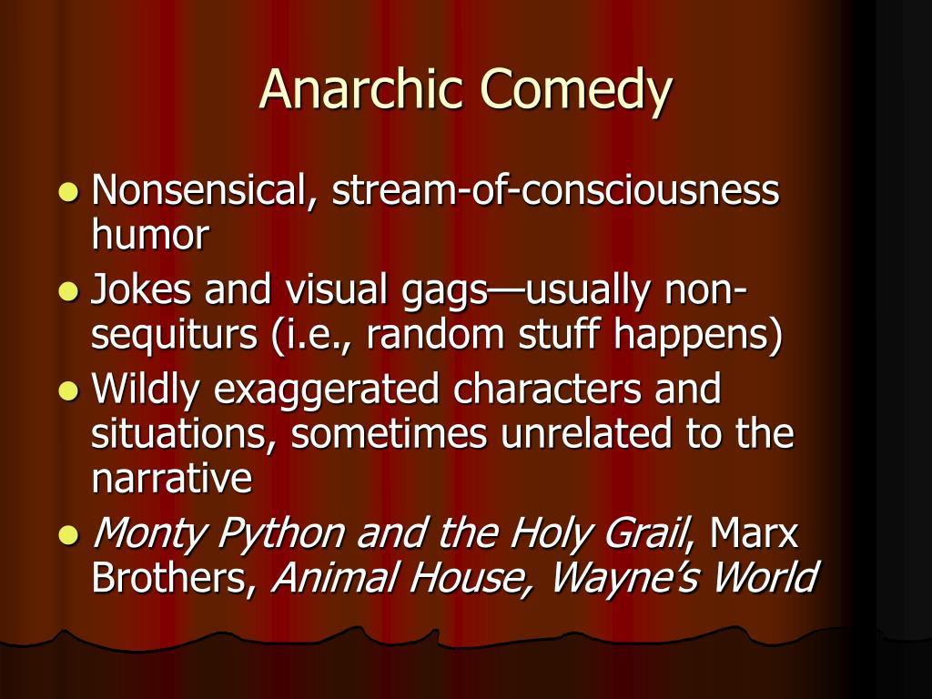 Anarchic Comedy