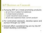 kp decision on casework