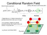 conditional random field