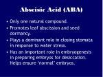abscisic acid aba